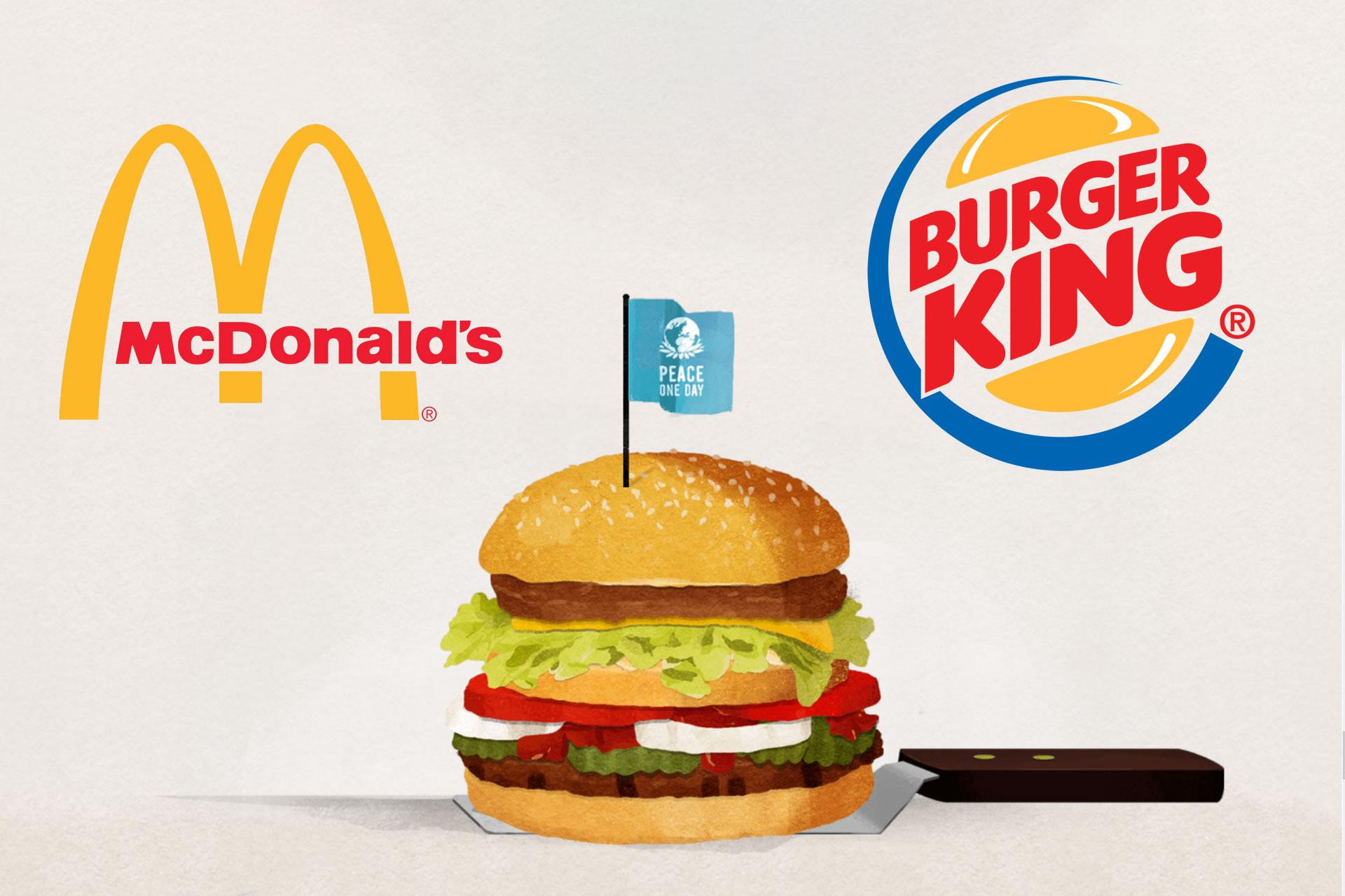 McDonald's versus Burger King