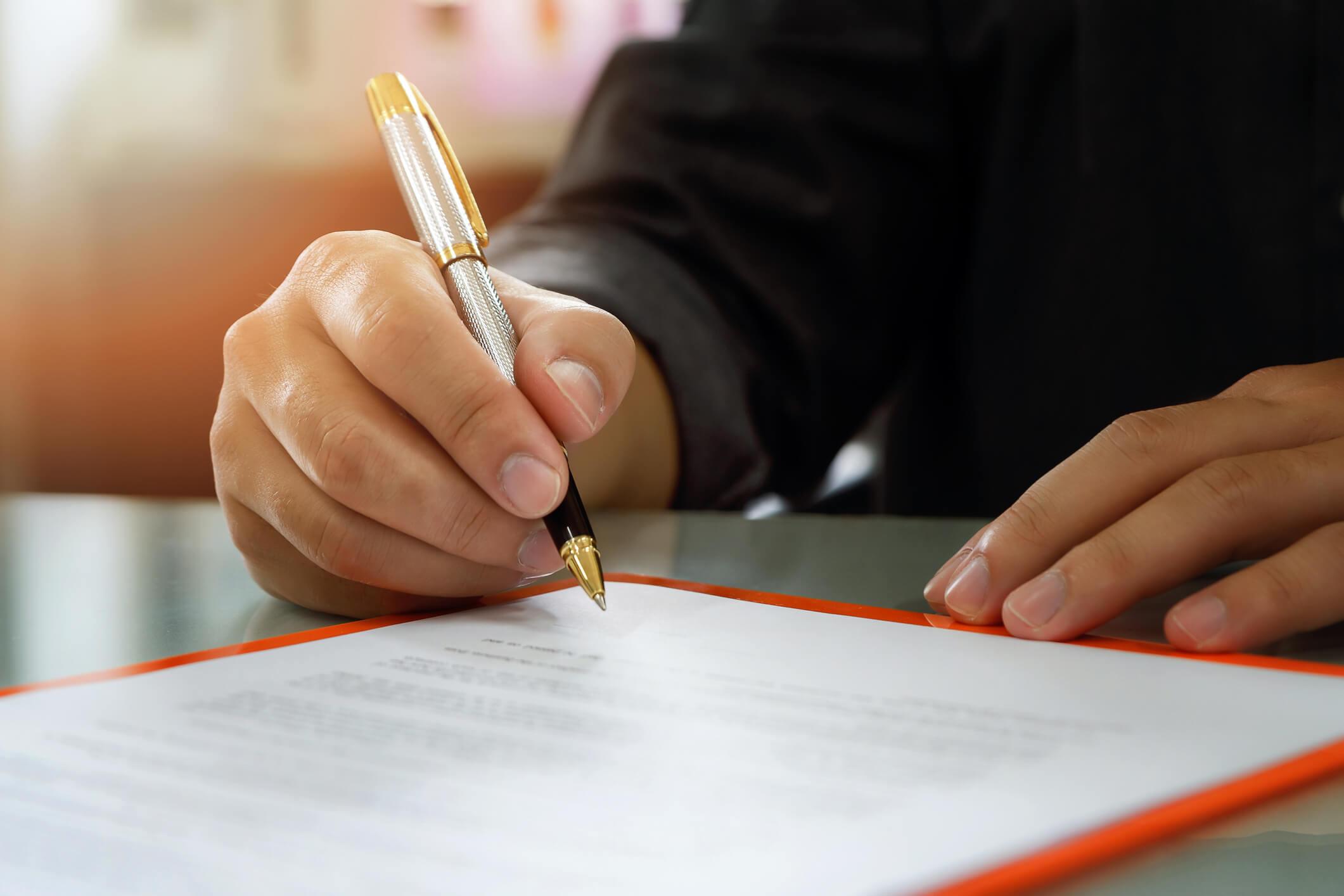 assinatura da circular de oferta de franquia